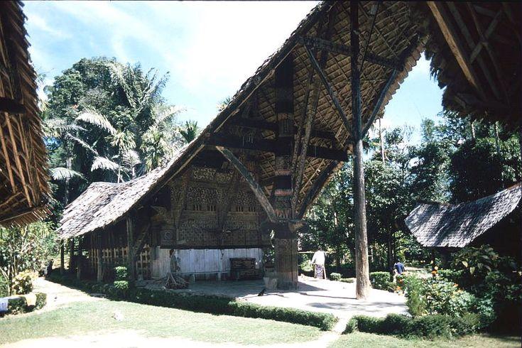 Banua Layuk, rumah ada Suku Mamasa, di Rambusaratu, Kabupaten Mamasa, Sulawesi Barat