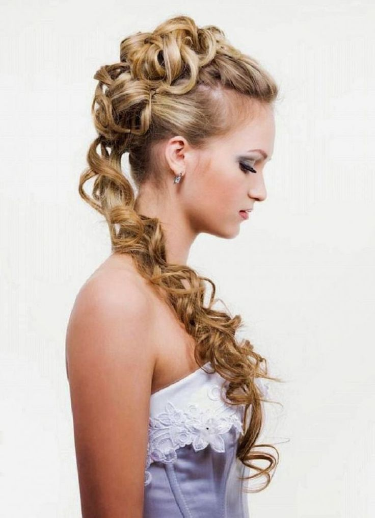 The latest hairstyles for long hair updo