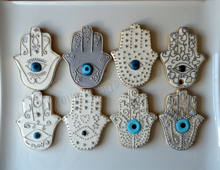 Hamsa Cookies - Not Your Everyday Cookie