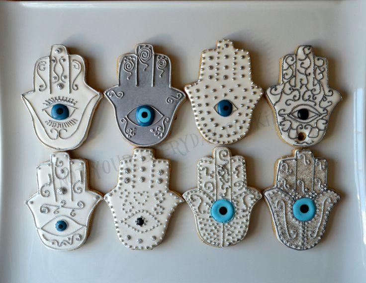 Hamsa Cookies - Not Your Everyday Cookie