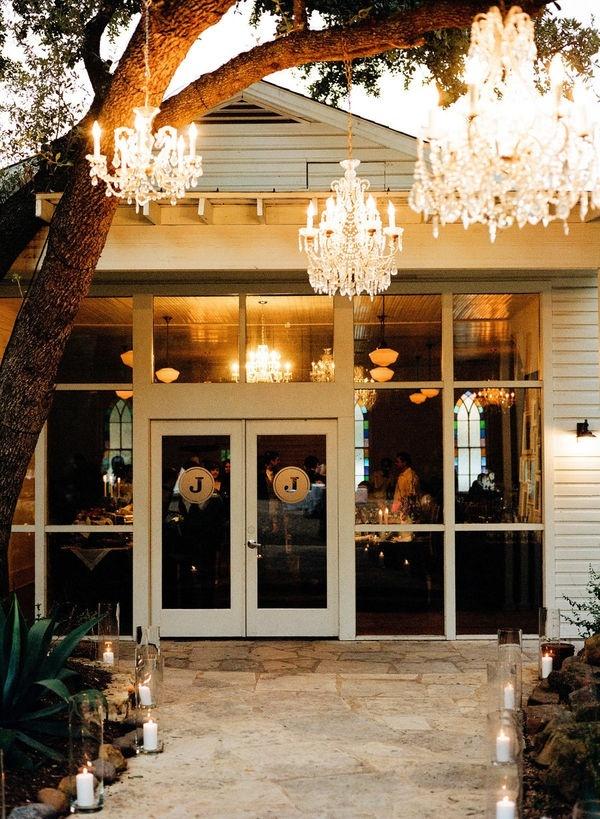 chandelier: Lighting Wedding Ideas, Chandeliers Outdoors, Inspiration, Outdoor Lighting, Weddings, Outdoor Chandeliers, Trees, Wedding Reception, Backyard
