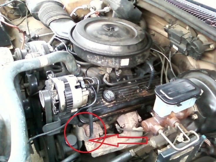 1998 Chevy Silverado engine accessory bracket | 89 Silverado Motor IDCracked PS brackets  Page