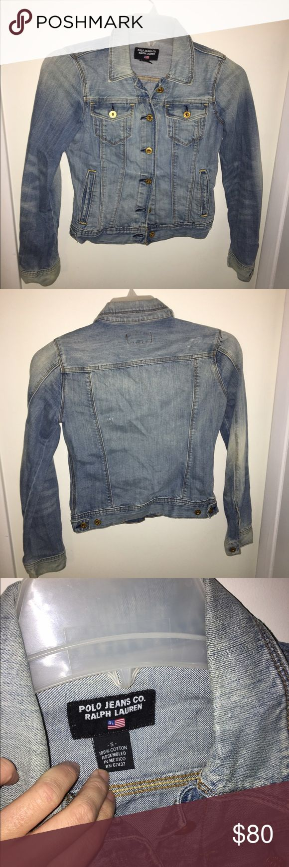 Ralph Lauren Polo Jeans Co. Jean Jacket Barely worn Ralph Lauren Polo jean jacket in perfect condition Can be worn as shirt or jacket, super soft fabric! Message with questions! Ralph Lauren Jackets & Coats