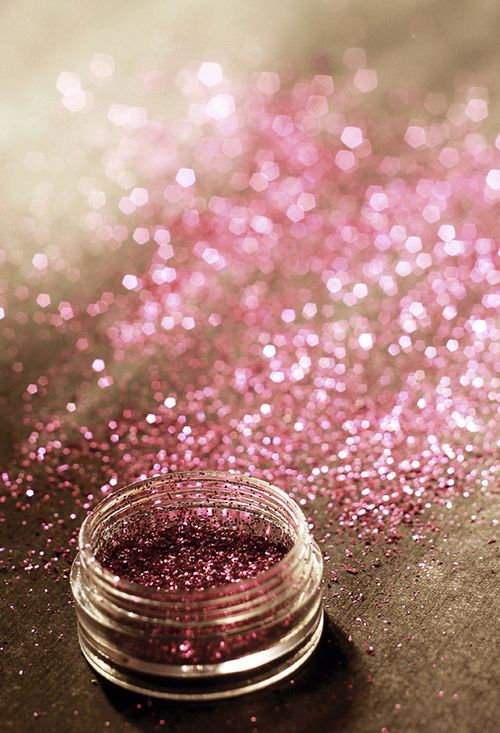 Pink (glitter) makes everything better. this is very very true glitter makes everyone happy yay