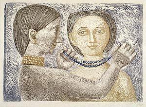 Massimo Campigli - La collana 1951