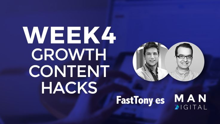 Watch on Youtube here: Content Marketing Hacks Fasttony - Week 4 Marketing Automation Network>. Via Man Digital Videos