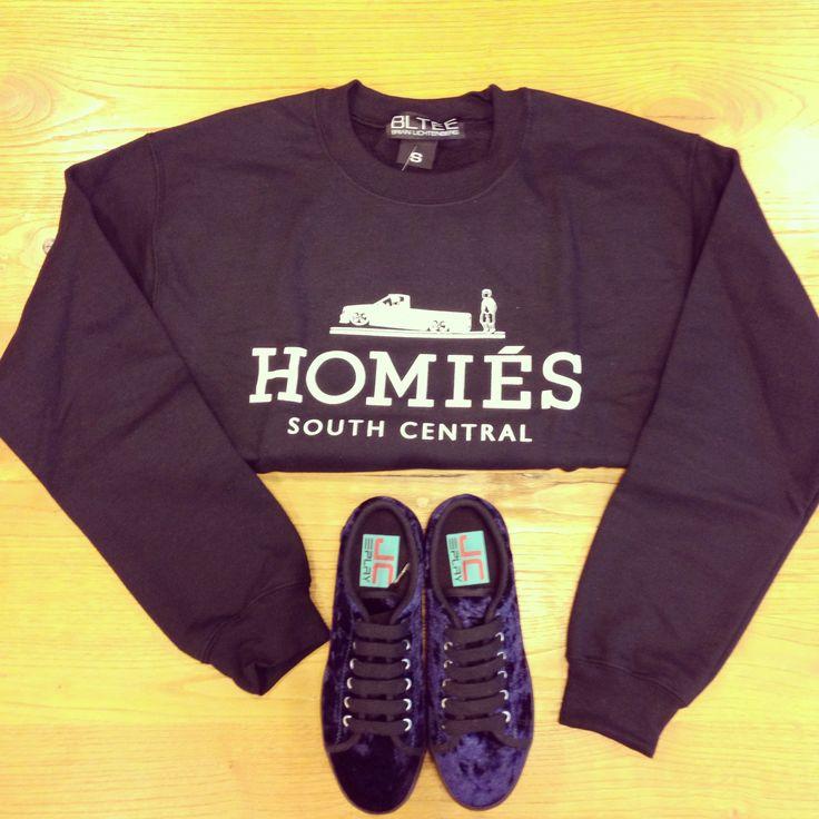 sweatshirt - Brian Lichtenberg shoes .- JC