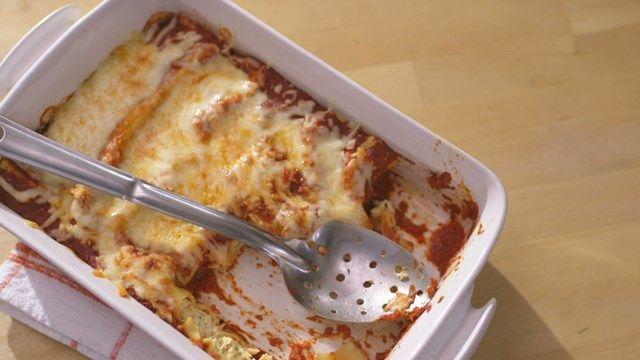 Cannellonis gratinés | Cuisine futée, parents pressés