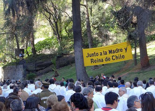"""Procesión del Carmen 29 de septiembre 2013   """"Junto a la Madre y Reina de Chile"""""""