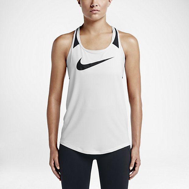 Женский спортивный топ Nike Flow Graphic