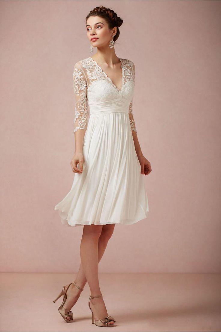 Size 8 white edding dress a line