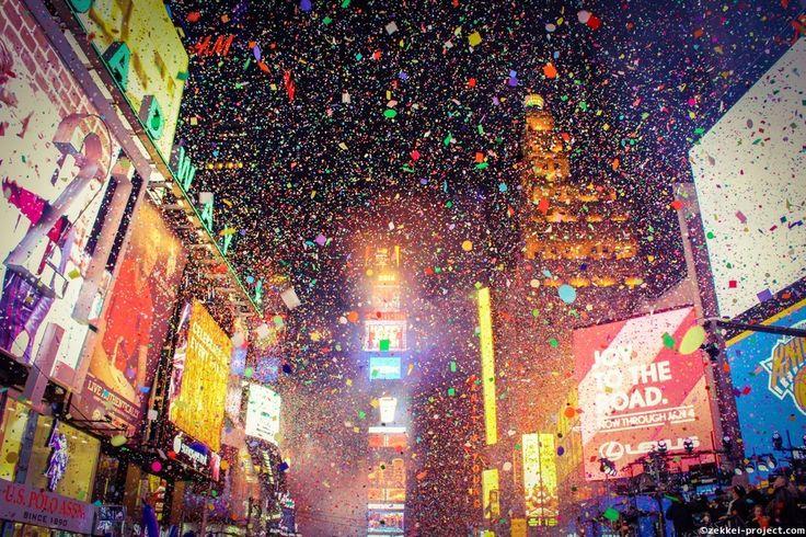 世界一の年越し・ニューヨークカウントダウン@タイムズスクエア   死ぬまでに行きたい!世界の絶景