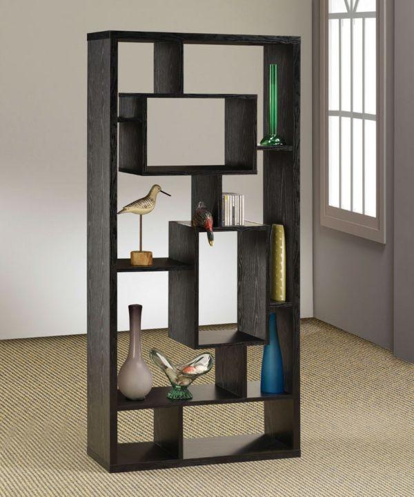 42 kreative Raumteiler Ideen für Ihr Zuhause   Bücherregal ...