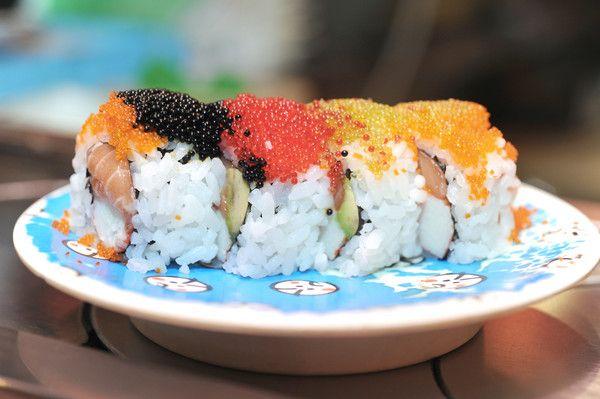 Butterfly roll at Kyodai Rotating Sushi Bar