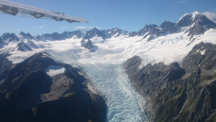 The stunning glaciers of New Zealand's Southern Alps