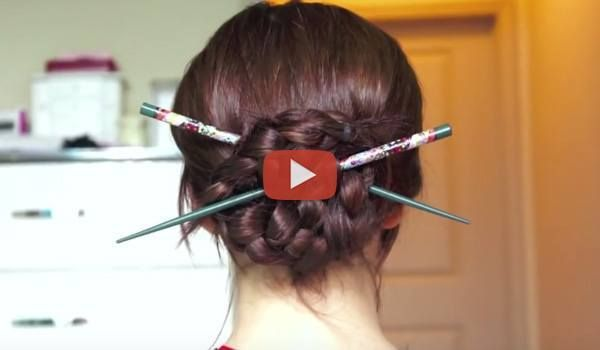 Hairstyles Using Hair Chopsticks –   Hair sticks or the hair chopsticks can today be substituted with pencils or pens. These are super easy to create and can help you during your long working hours. These also make you look stylish …