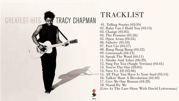Tracy Chapman Best Songs || Tracy Chapman Greatest Hits || The best of T...