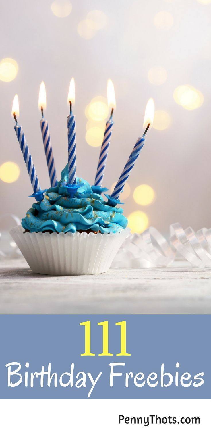 111 Birthday Freebies. OMG you never have to pay for anything on your birthday again thanks to this list!