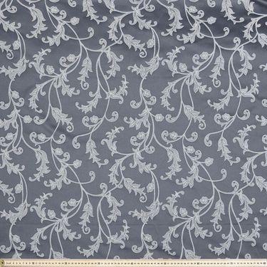Leonora Leaf Jacquard Fabric