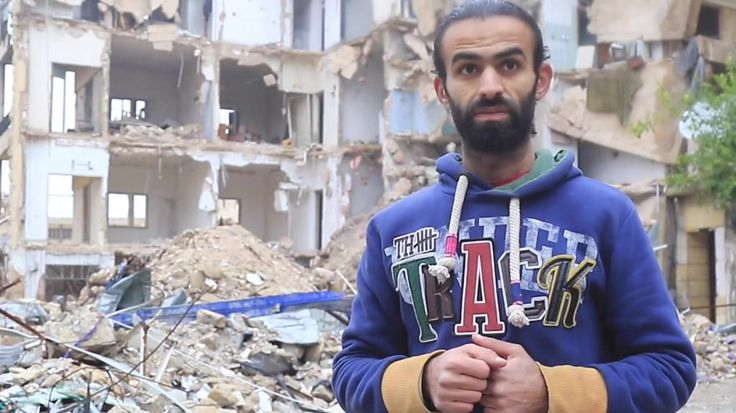 Milad al-Shehabi is a filmmaker living in the besieged rebel-held district of the Syrian city of Aleppo.