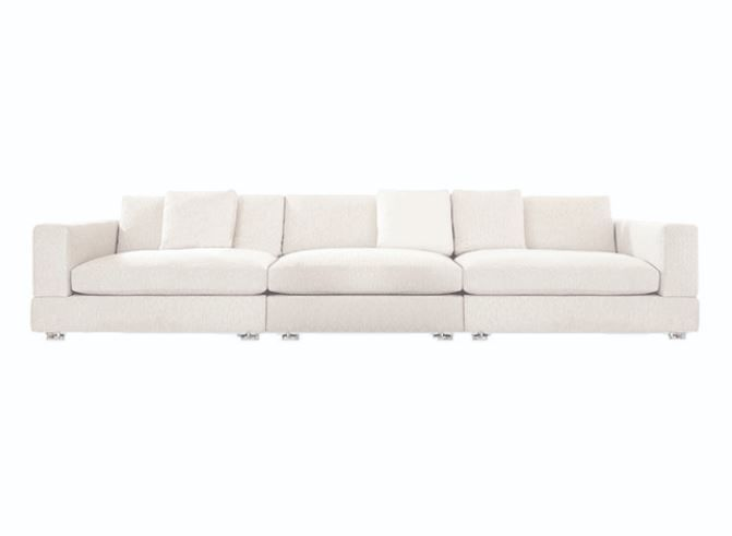 Nolan Sofa Minotti In 2020 White Chaise Lounge Sectional Chaise Baby Armchair