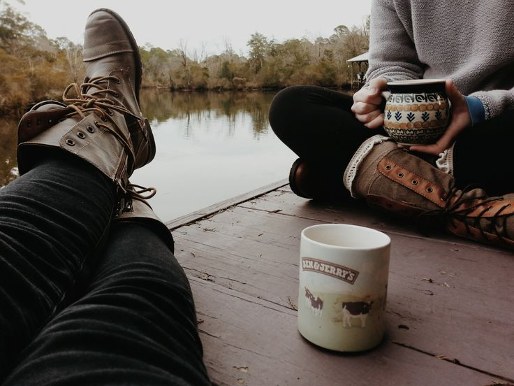Let's have coffee and deep talks about life.