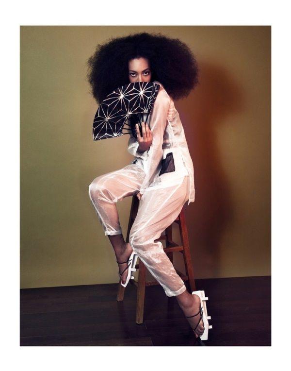 Solange Knowles by Seiji Fujimori for The Ground Magazine