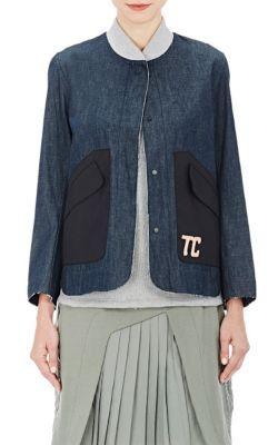 Tim Coppens Embroidered Denim Jacket at Barneys New York