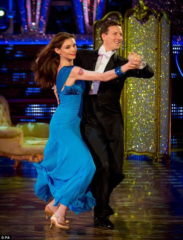 The 34-year-old British Singer Sophie Ellis-Bextor with partner Aussie Brendon Cole in UK Strictly Come Dancing 2013