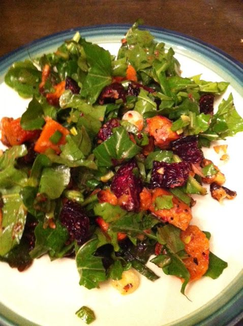 Warm Winter Salad with Arugula, Beets, and Sweet Potatoes ...