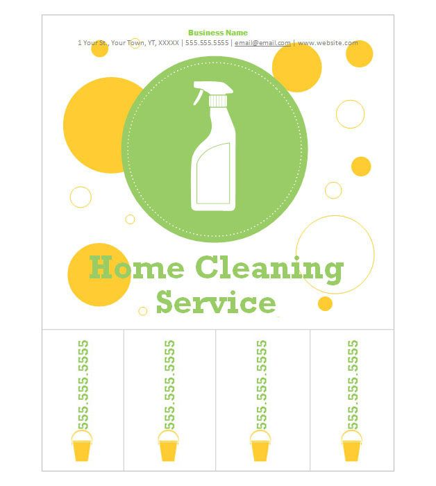 10 best Cleaning flyers images on Pinterest Cleaning flyers - house cleaning flyer