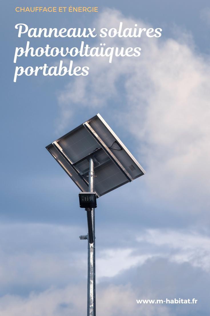 Panneaux Photovoltaiques Solaires Portables Transportables Et