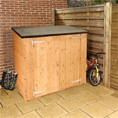 12 best garbage can storage shed images on pinterest outdoor