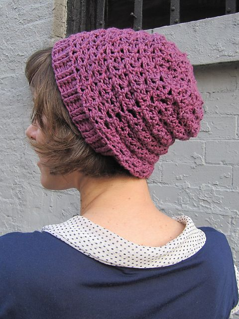 Ravelry: Starfish Slouch Beanie pattern by Katie Carroll