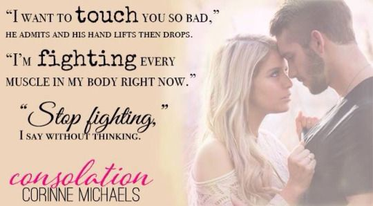 Consolation by Corinne Michaels | Goodreads