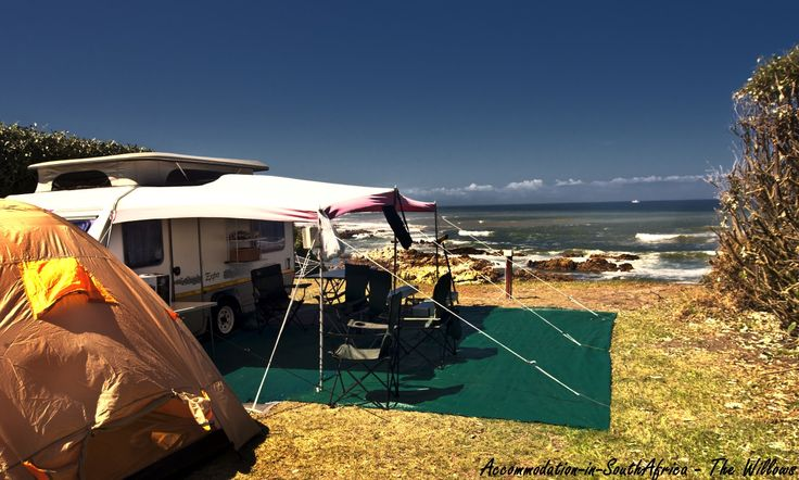 Camping at The Willows, Port Elizabeth. The Willows camping accommodation.