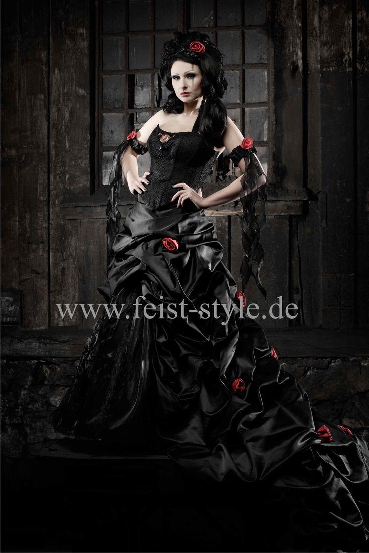 16 besten Black Wedding Gowns / Schwarze Hochzeitskleider Bilder auf ...