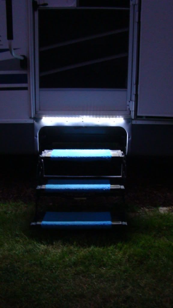 Lighting Basement Washroom Stairs: 47 Best Caravan And RV Helpfull Tips/Accessories/D.I.Y