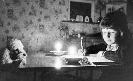 The miners strikes of 1972 caused power cuts around the country. With no coal for the power stations blackouts lasting nine hours plunged Britain into darkness.  I remember reading by candlelight.