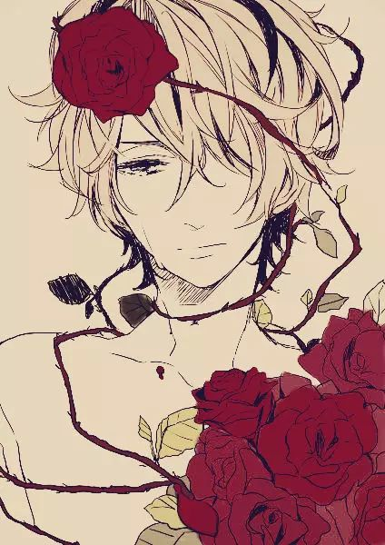 Imagen de anime, ib, and rose