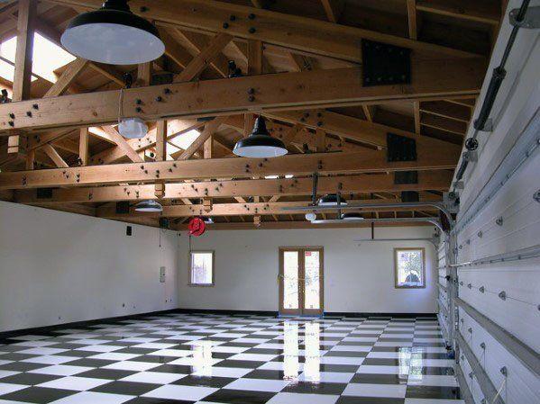 Top 40 Besten Garage Decken Ideen Automotive Space Interior Designs Mann Stil Tattoo Garage Interior Basement Flooring Options Garage Lighting