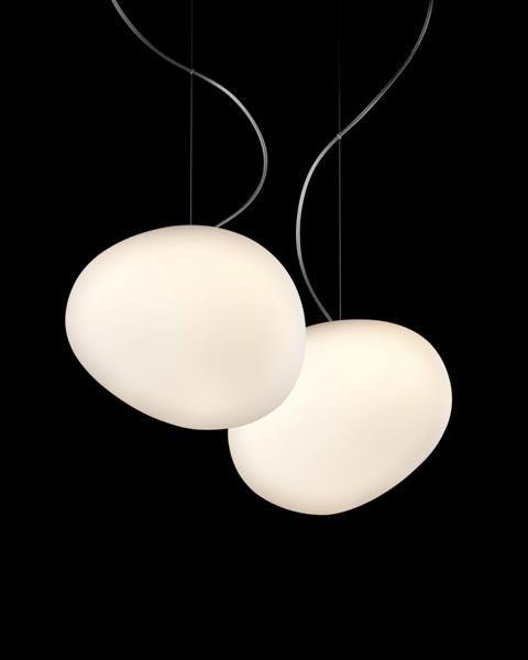 Gregg Pendant  Special! Foscarini.  Design: Ludovica + Roberto Palomba Presented: Euroluce 2007, Milan stylepark-id: 04.1523.00093 categories:  Design › lighting › decorative light › pendant lights