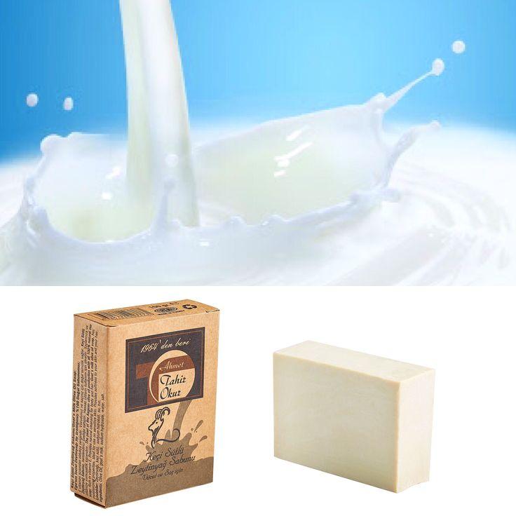 Keçi Sütlü Zeytinyağ Sabunu Goat's Milk Olive Oil Soap