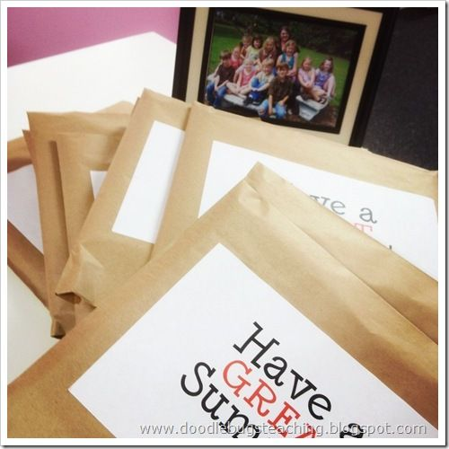 end of the year student gift idea - framed picture of class