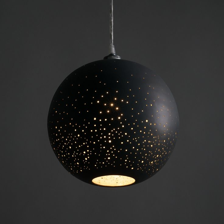 Stargaze From The Comfort Of Your Bed With This Constellation Pendant Lamp Globes Are Treated A Phosphate Coating To Create Darkened Halo Effect