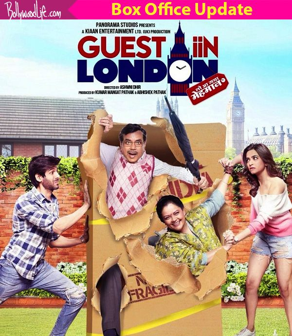 Guest Iin London box office collection day 1: Kartik Aryan and Paresh Rawal film struggles, earns Rs 2.10 crore #FansnStars