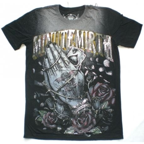 Praying hands gothic t-shirt