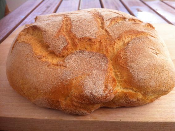 Πανεύκολο ψωμί της στιγμής για αρχάριους
