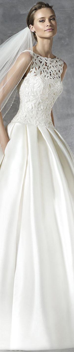 PRONOVIAS BRIDAL GOWNS 2016 PRANETTE WEDDING DRESS