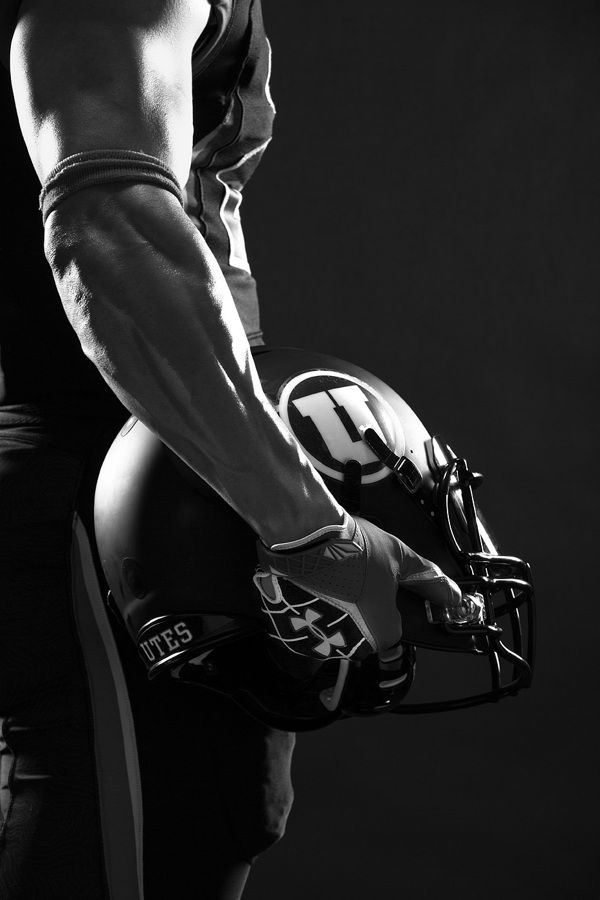 University of Utah Football   Hall of Fame Photography by Kevin Winzeler, via Behance